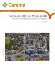 Entrée de ville des Ponts-de-Cé. Prise en compte du risque d'inondation | TRAN DUC MINH, Chloé. Auteur