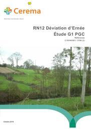 RN12 Déviation d'Ernée : Étude G1 PGC | COLLOBERT, Michel. Auteur