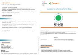Association Aquitaine Carbone   REFFET, Frédérique. Auteur