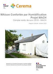 MAison Confortée par Humidification Projet MACH. : Compte rendu de suivi 2019    IGHIL AMEUR, Lamine. Auteur